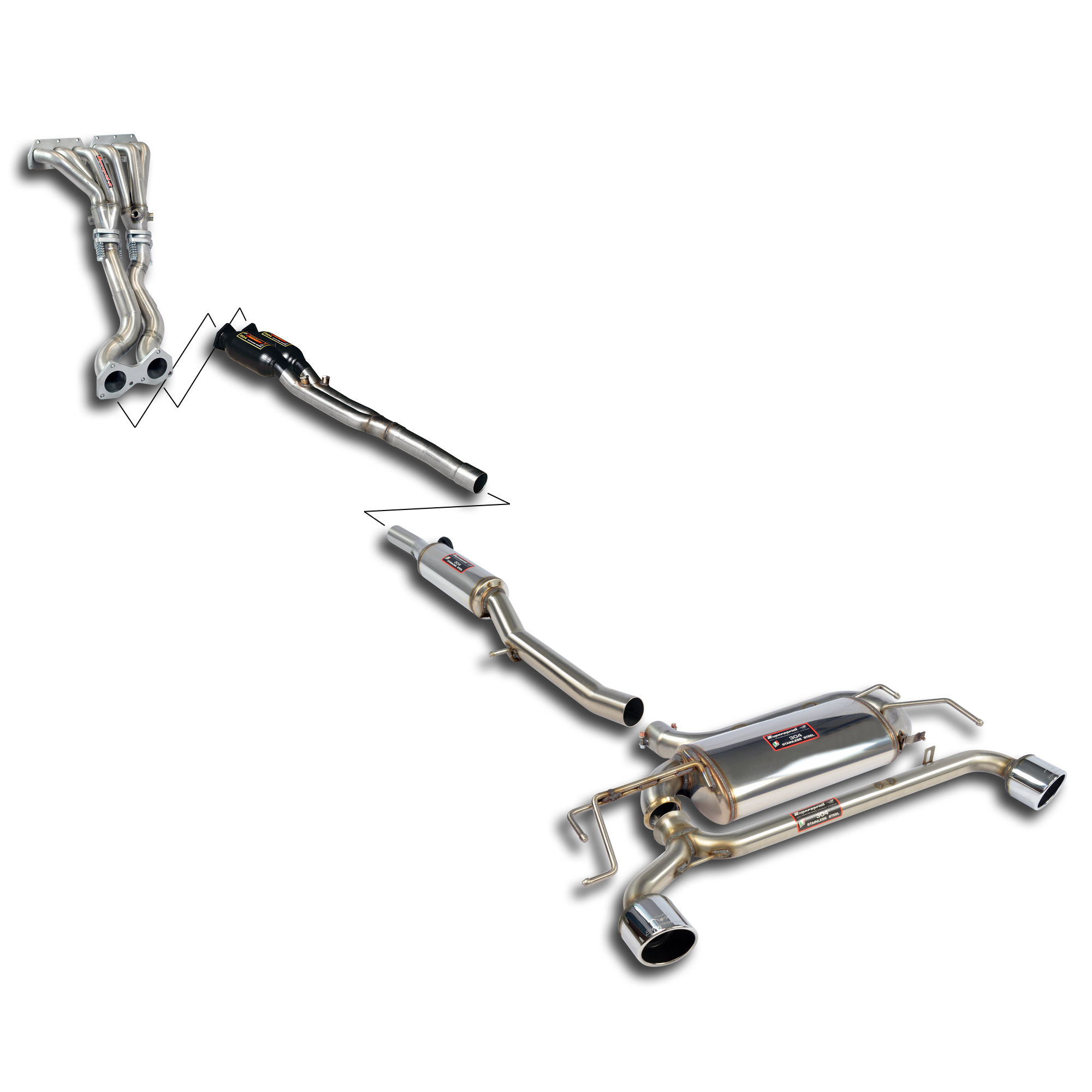 Volkswagen - VW GOLF IV R32 Street performance pack, performance exhaust systems