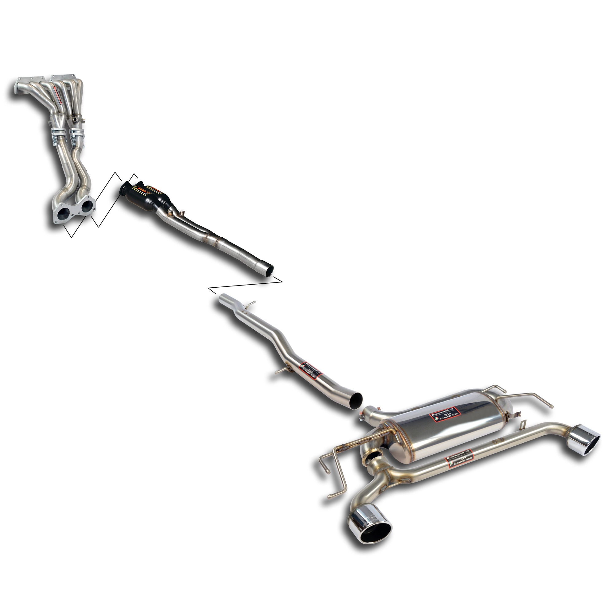 Volkswagen - VW GOLF IV R32 Track performance pack, performance exhaust systems