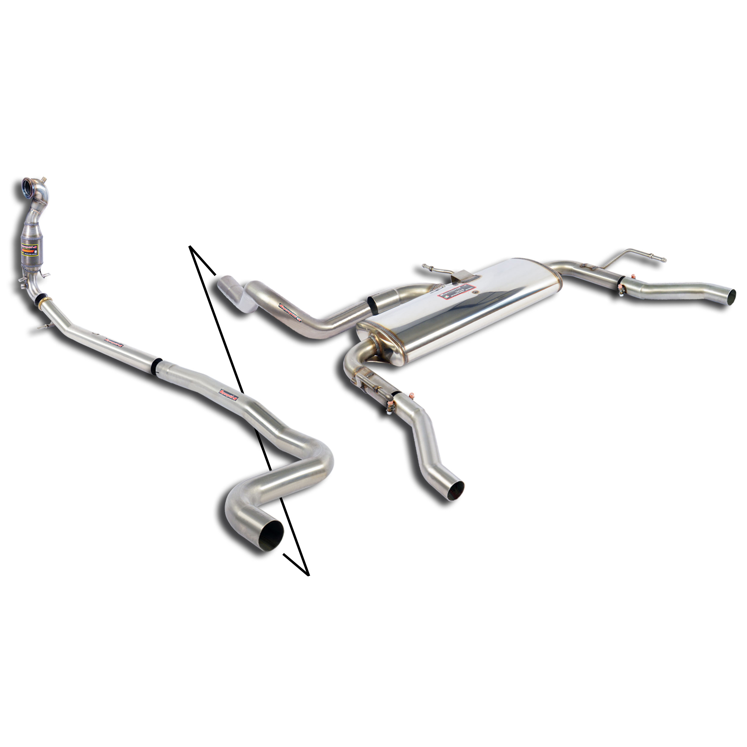 performance exhaust systems stainless steel