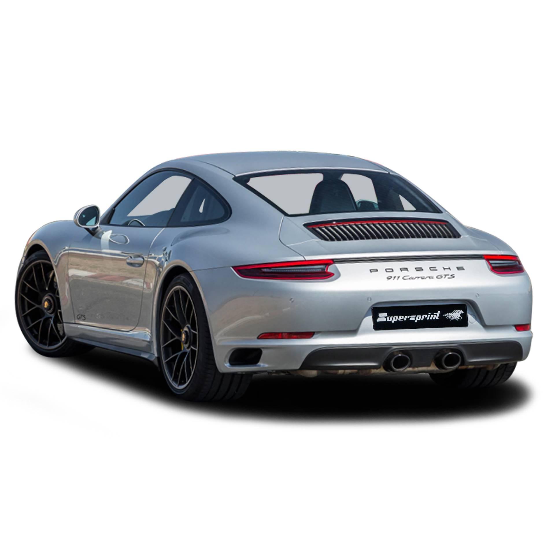 Performance Sport Exhaust For Porsche 911 991 2 Carrera Gts 3 0i