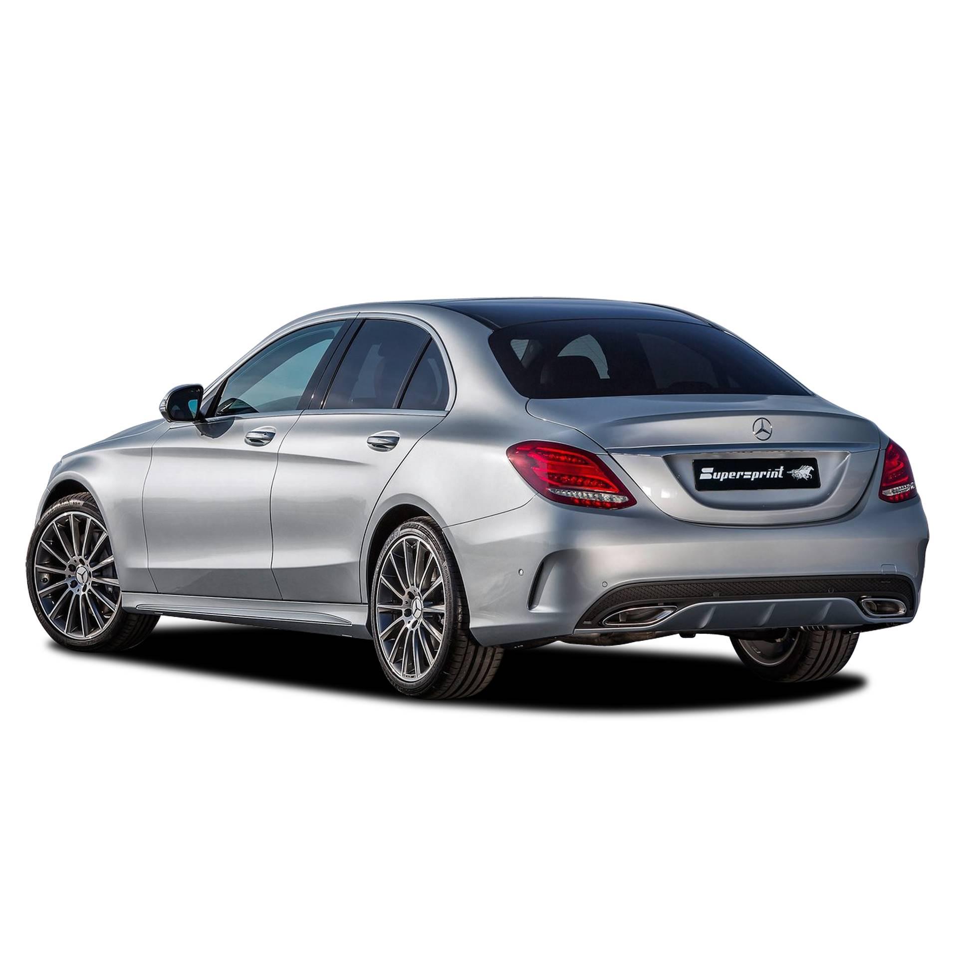 Supersprint fra Danspeed til Mercedes C-Klasse W205 C200 C300 C400