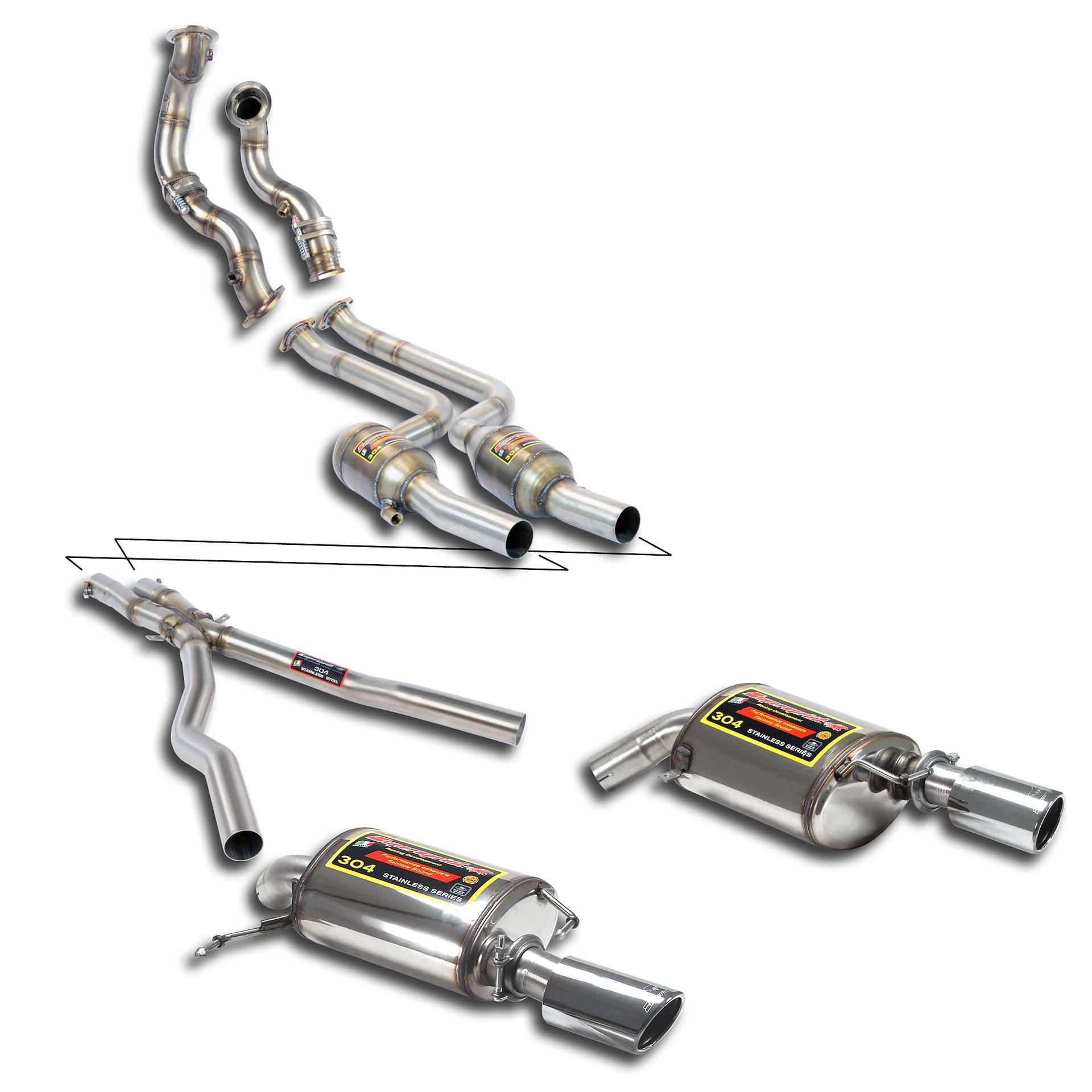Bmw Z4 E89 Exhaust: Performance Sport Exhaust For Z4 SDrive35is, BMW E89 Z4