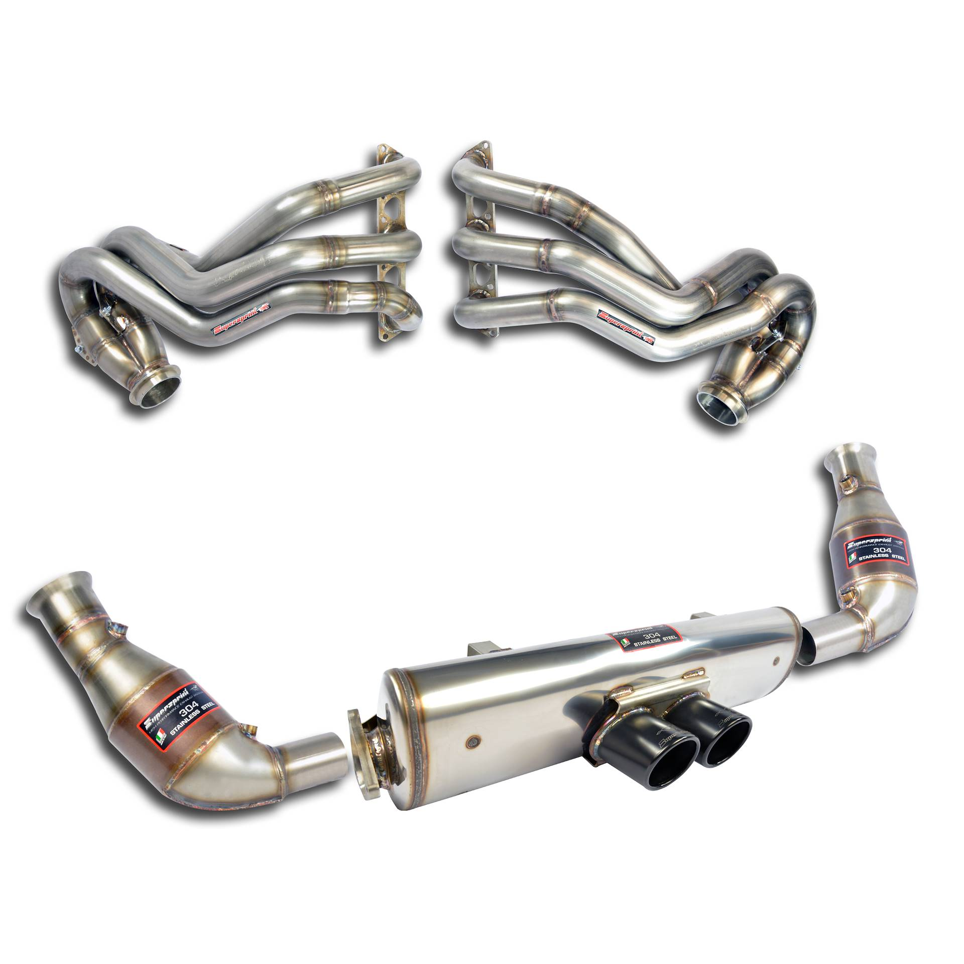 Performance Sport Exhaust For Porsche 911 997 1 Gt3