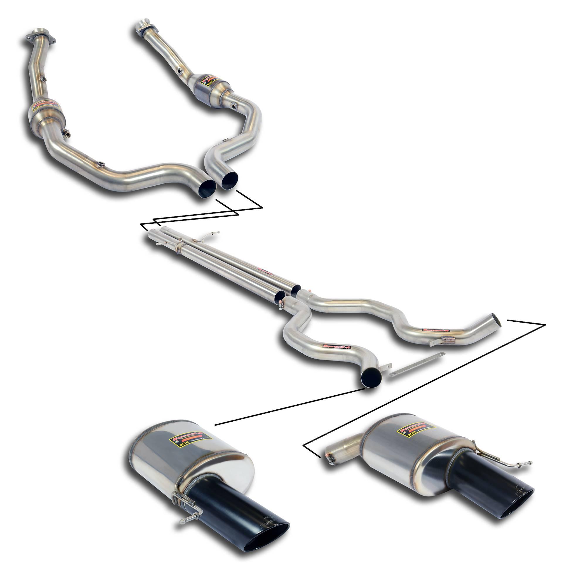 Performance sport exhaust for RANGE ROVER SPORT 5 0i V8