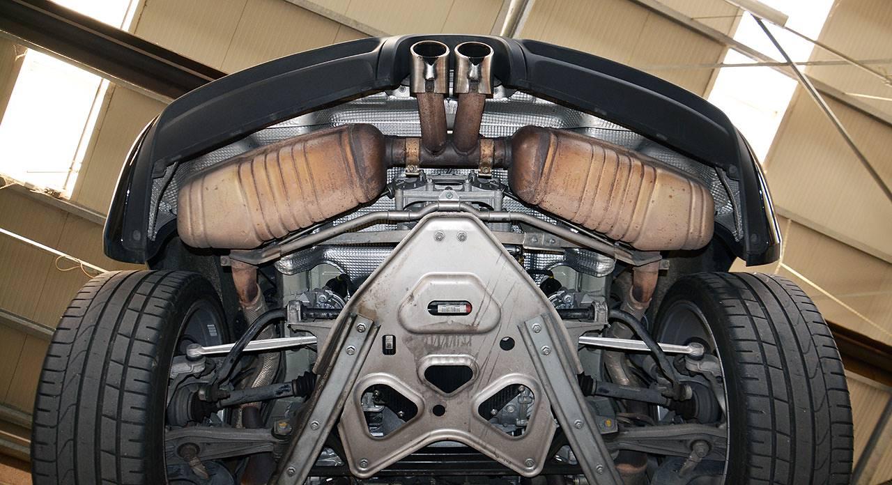 Neue Sportauspuff F 252 R Porsche 981 Boxster Und Cayman 2015