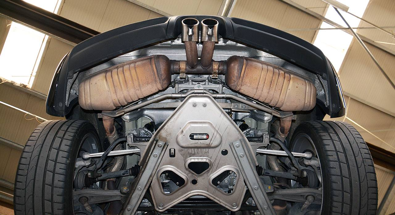 How To Replace Catalytic Converter >> New performance exhaust for Porsche 981 Boxster and Cayman ...