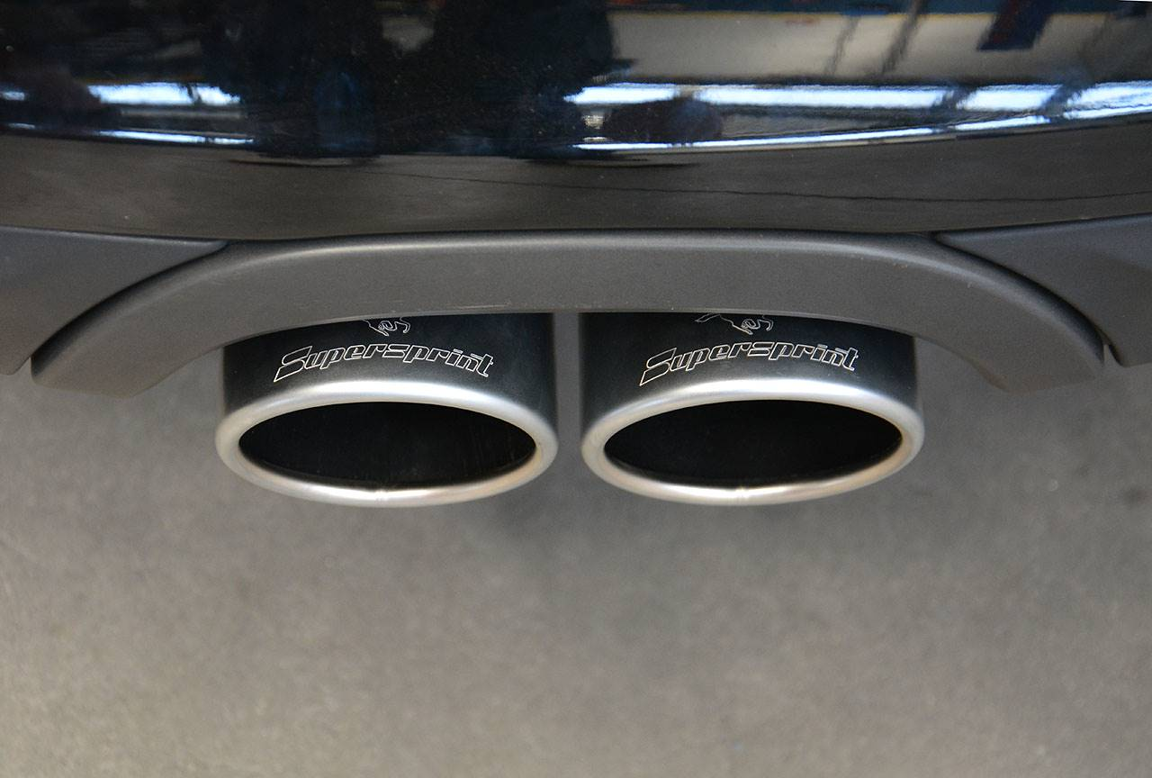 Porsche 981 - Supersprint tailpipes 100mm 248026