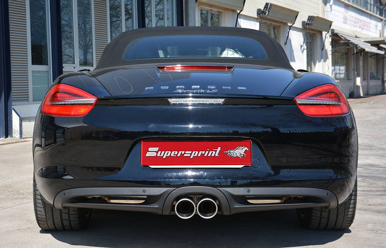Porsche 981 - Supersprint exhaust