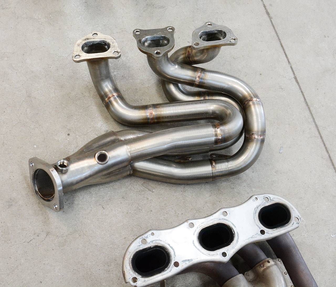 Porsche 981 - Supersprint headers 248001 (prototype not welded)