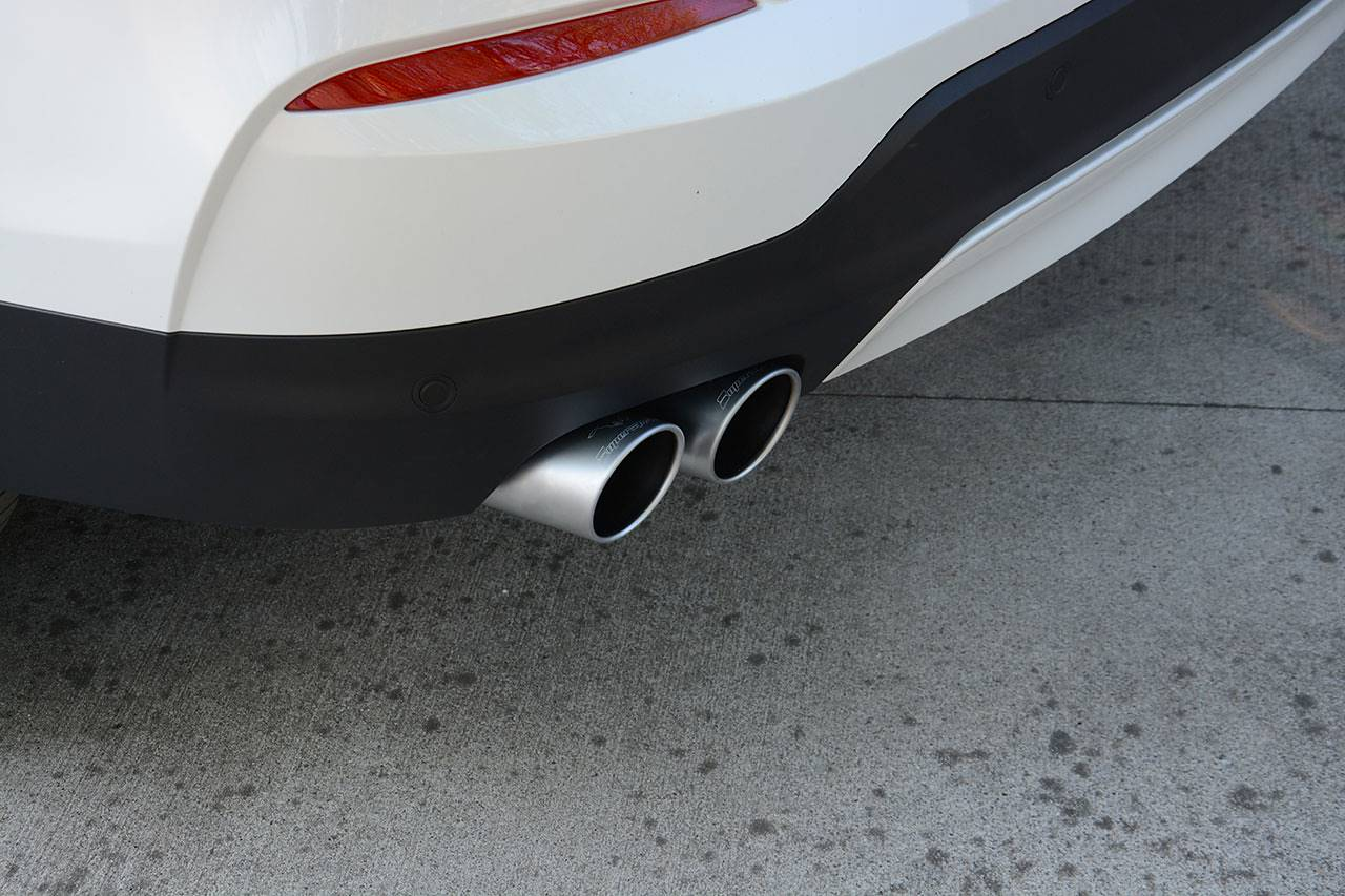 Supersprint performance quad exhaust for BMW F26 X4 20d