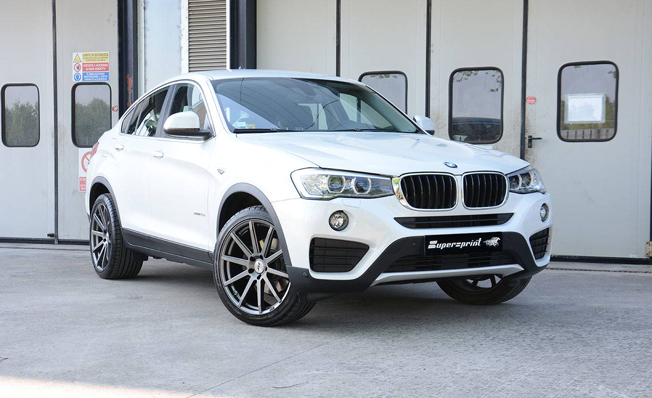 BMW F26 X4 20d by Supersprint