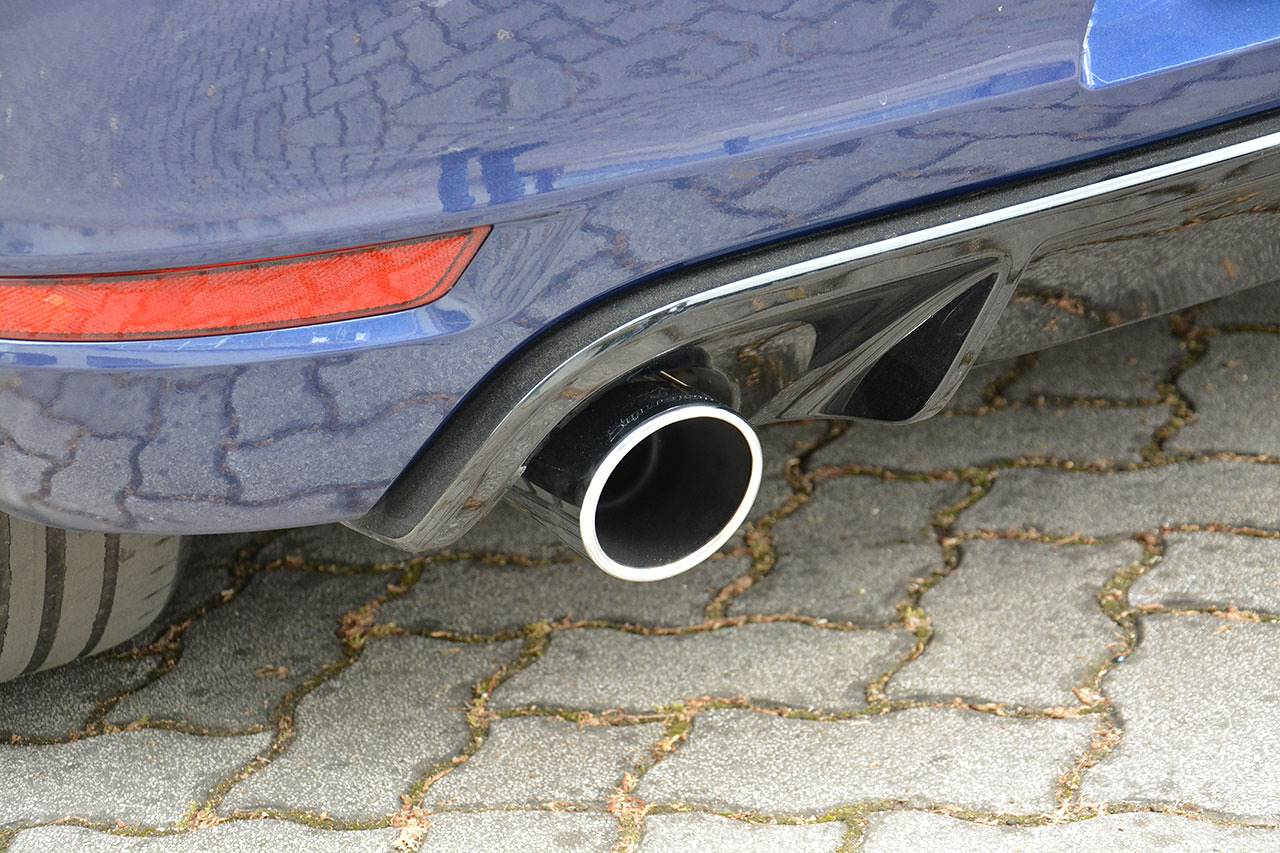 Golf mk7 GTD - GTI style exhaust fitted with 100mm tip