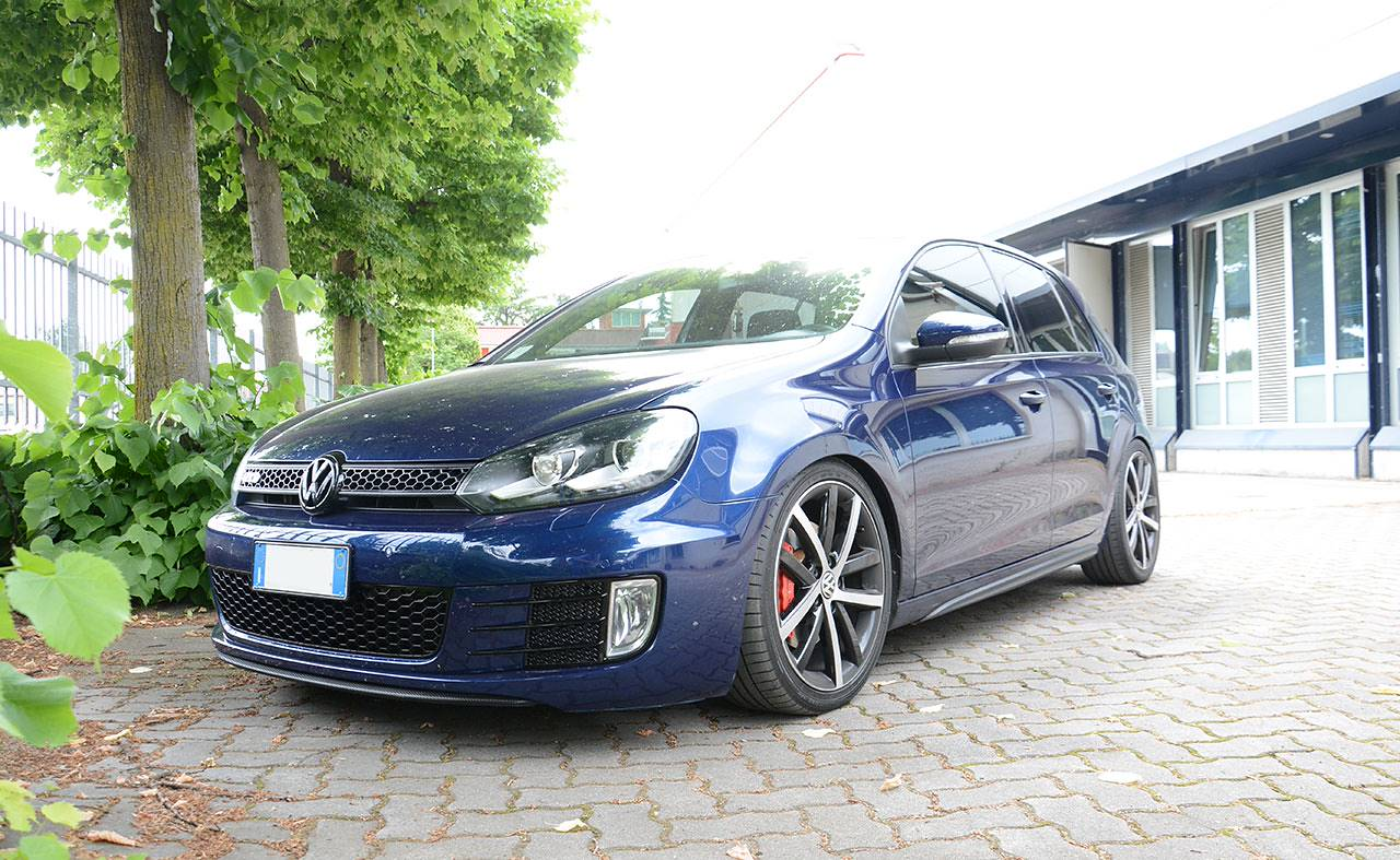 Golf mk7 GTD - full sport exhaust GTI replica Supersprint