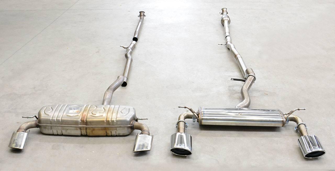 Ford Focus Rs Vs St >> Neue Sportauspuff für A250 und A220, C117 CLA250 und CLA220, GLA250 und GLA220, 2015 Juni 12