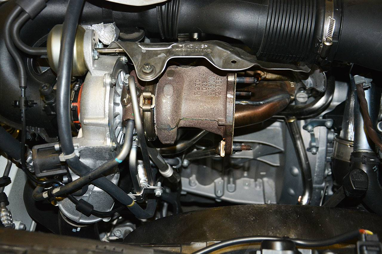 Mercedes W176 A250 Turbocharger