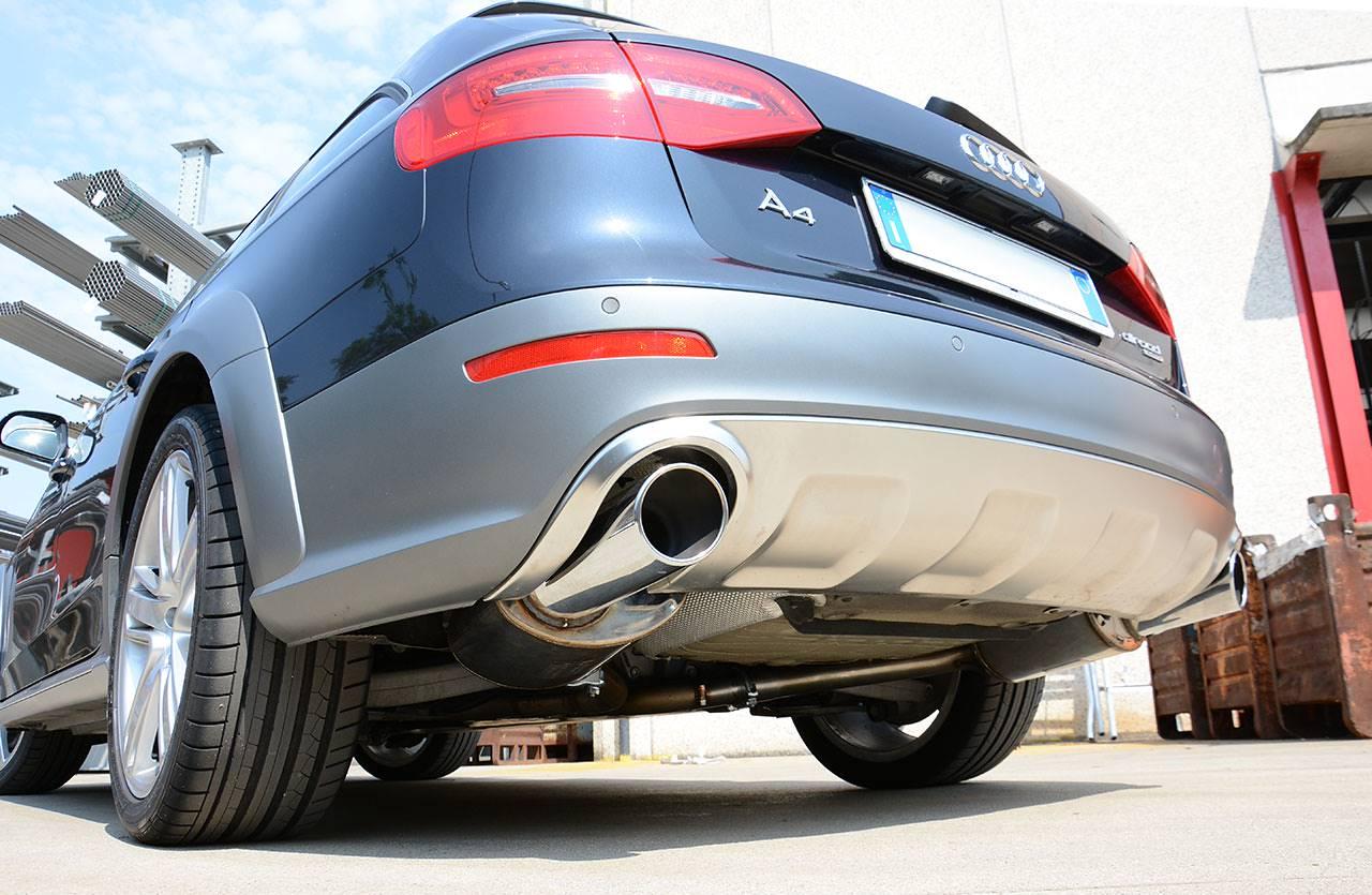 Audi A4 B8 Allroad 30 Tdi 240 245 Hp 09 Audi Exhaust Systems