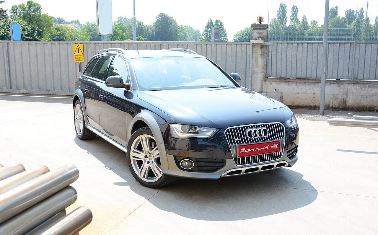 audi a4 b8 allroad 3 0 tdi 240 245 hp 39 09 audi exhaust systems. Black Bedroom Furniture Sets. Home Design Ideas