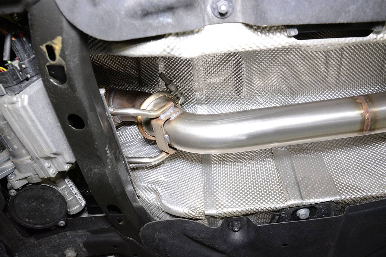 Front pipe Mercedes A250 W176 Supersprint 722012