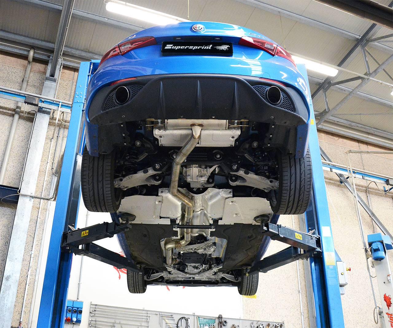 Performance Sport Exhaust For Alfa Romeo Giulia Veloce Q4