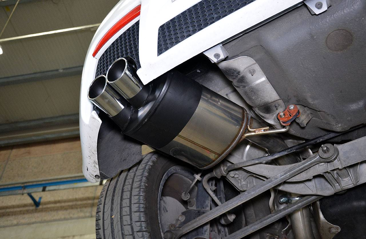 Supersprint full exhaust system for Alfa Romeo 147 GTA