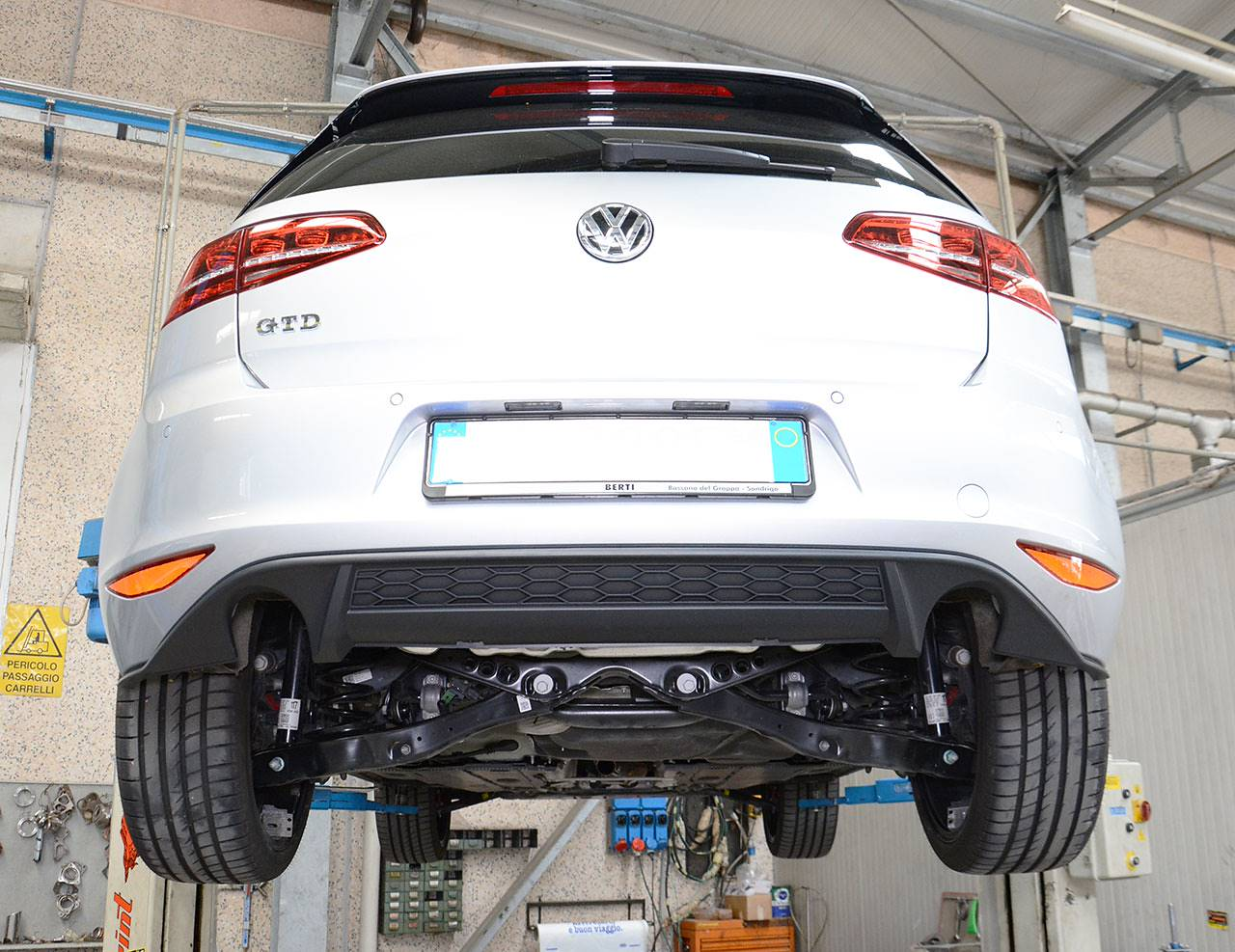 Golf Mk7 GTD with GTI diffuser