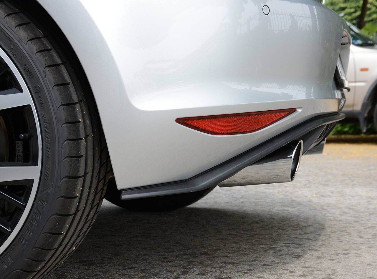 Golf 7 GTD - Dual exhaust GTI style Supersprint with 90mm tips