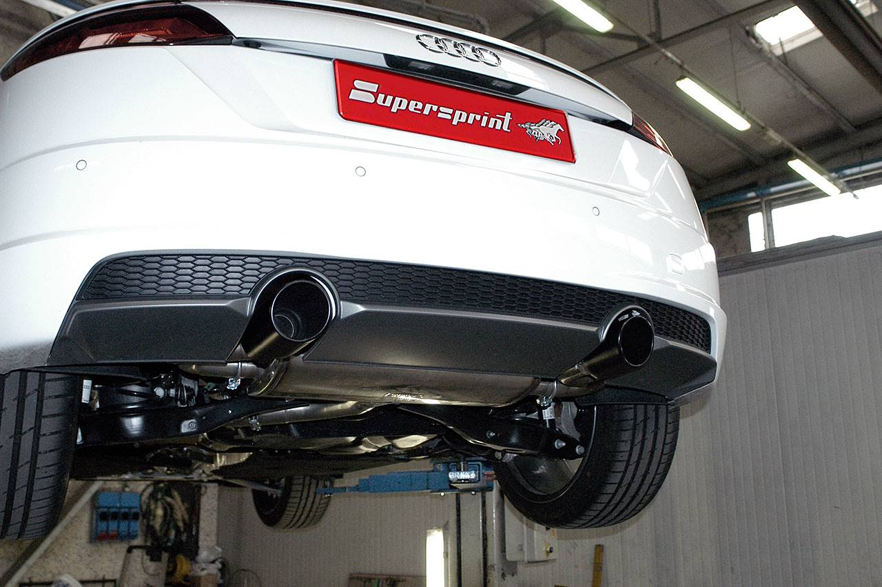 Supersprint tilepipe 816074 on Audi TT Mk3 2.0 TDI