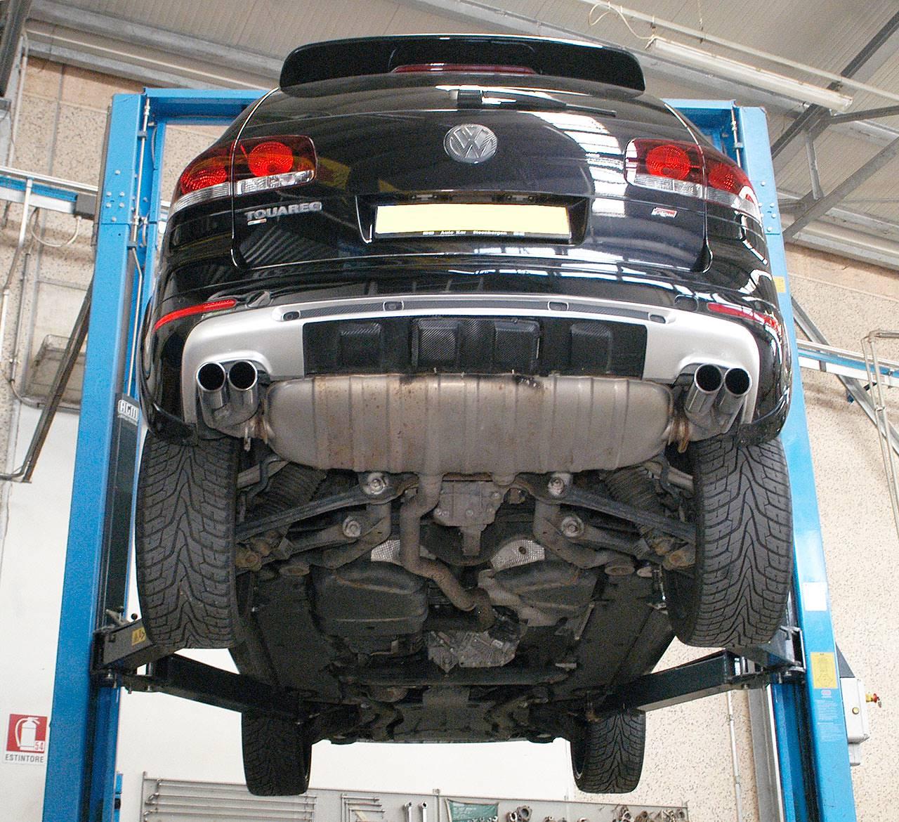 2008 Volkswagen Touareg 2 Transmission: Performance Sport Exhaust For VW TOUAREG 7L 3.0 TDi, VW
