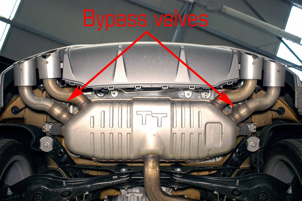 Performance Sport Exhaust For Audi Tt S Mk3 With Valve