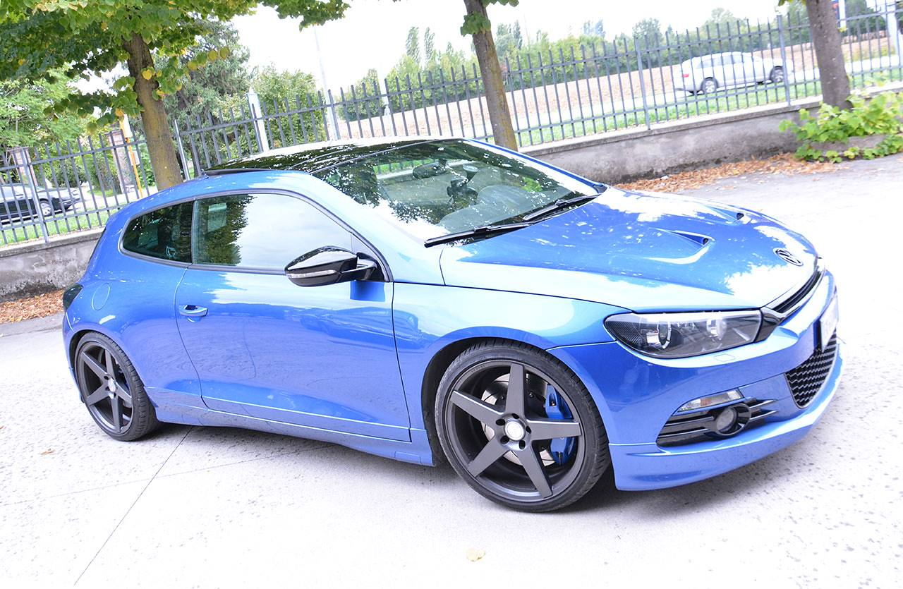 Scirocco 2.0 TSI with full Ø76 quad exhaust system Supersprint