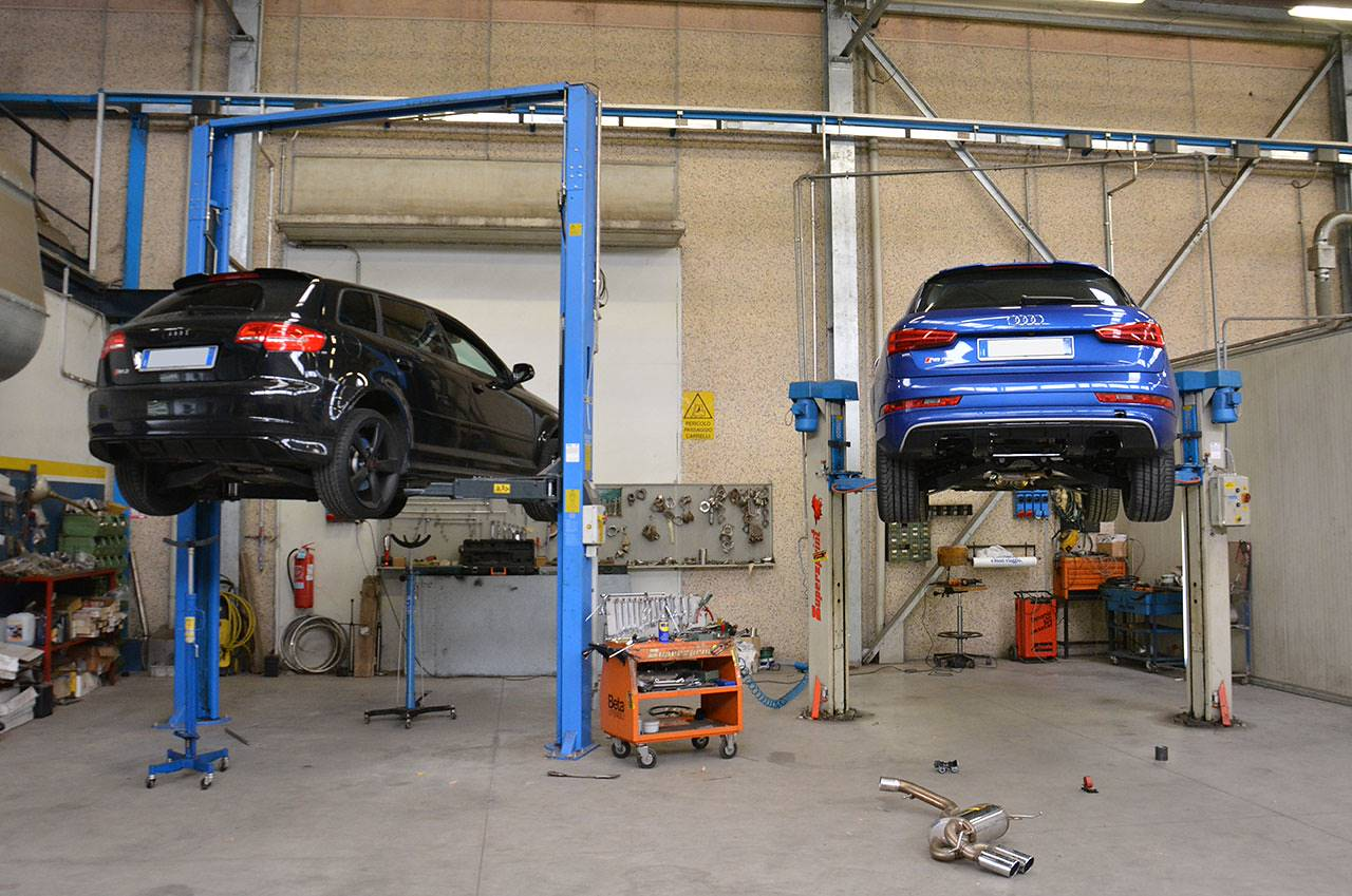 Audi RS Q3 Development of the new Supersprint exhaust system