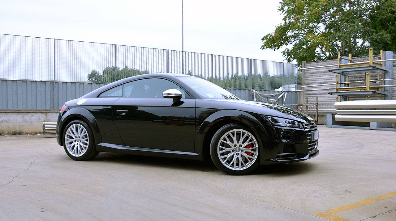 Audi TT-S Mk3 2015 Supersprint exhaust