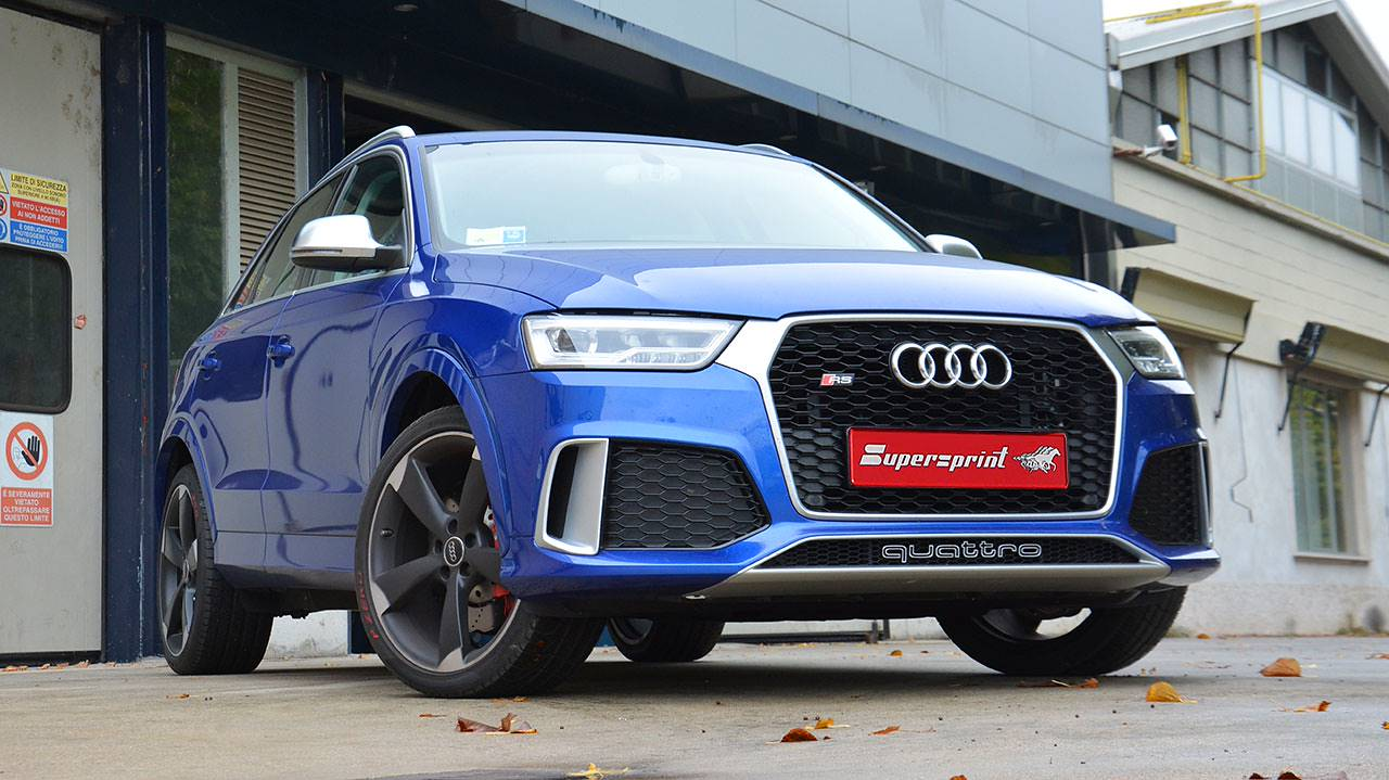 Supersprint per Audi RS Q3