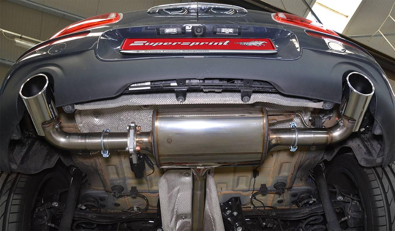 Syst 232 Me D 233 Chappement Sportif Pour Mini F54 Cooper S