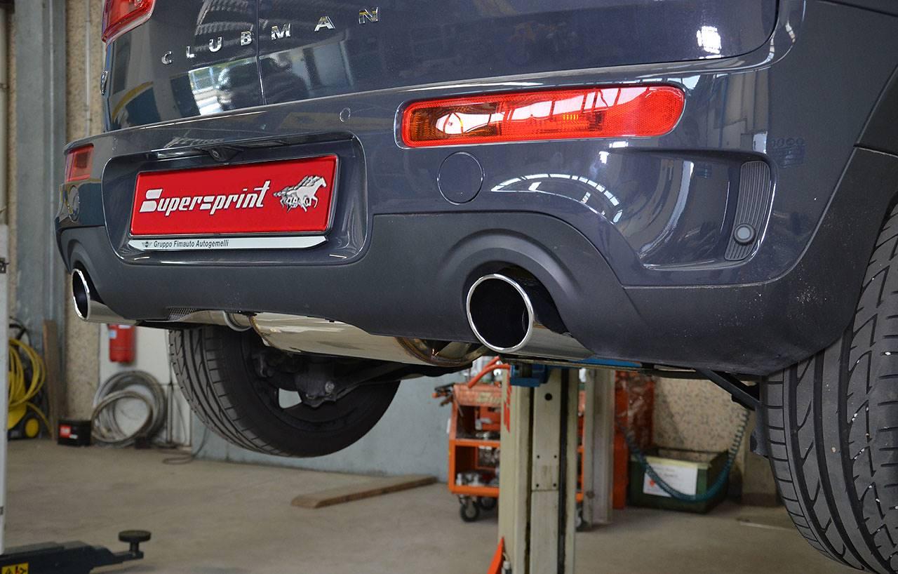 Performance Sport Exhaust For Mini F54 Cooper S Clubman Mini F54
