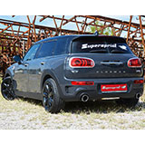 MINI Cooper Clubman S F54 2.0T (192 Hp) - Supersprint Auspuffanlage mit Klappe