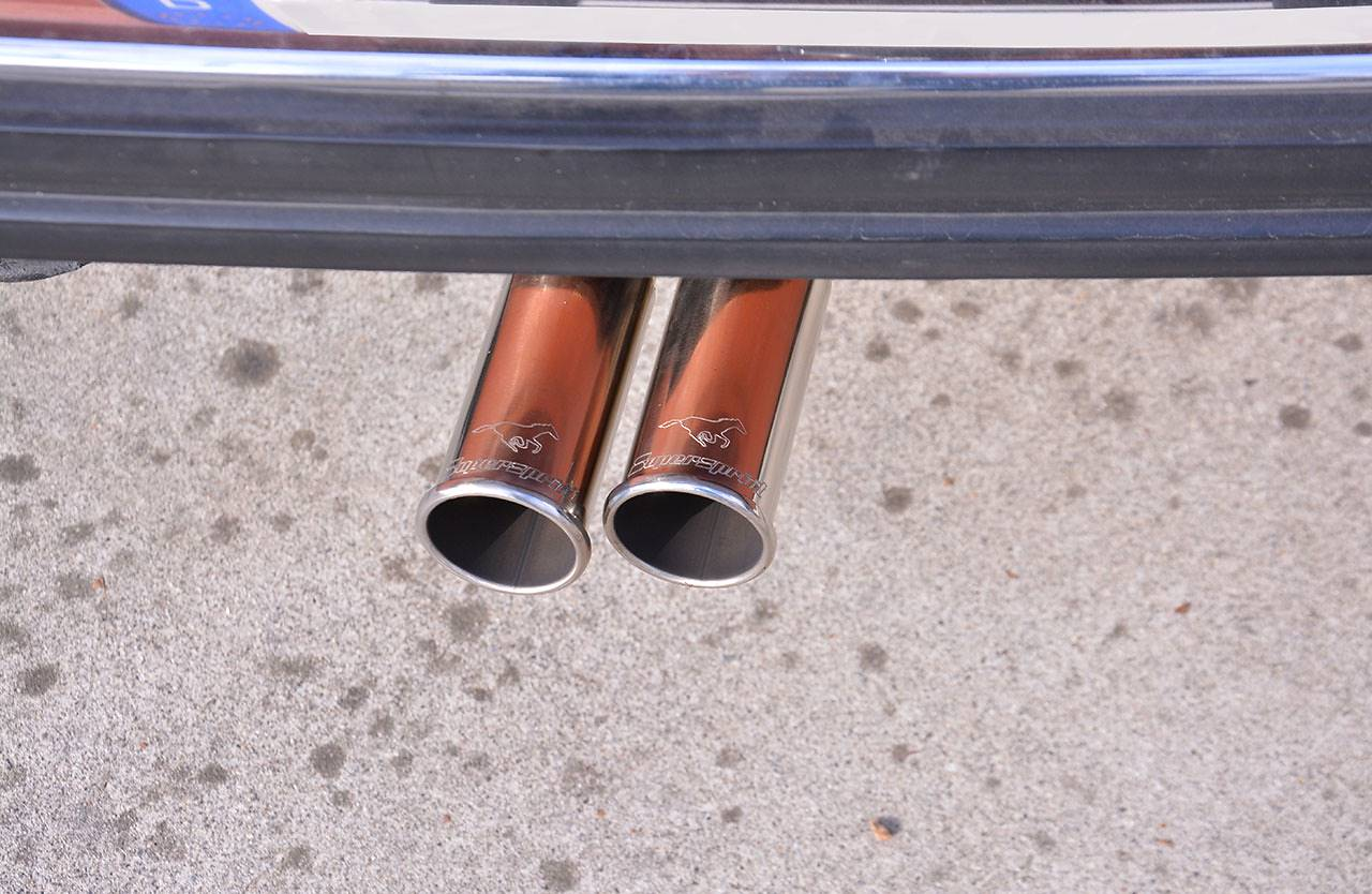 Supersprint performance tailpipe BMW E12