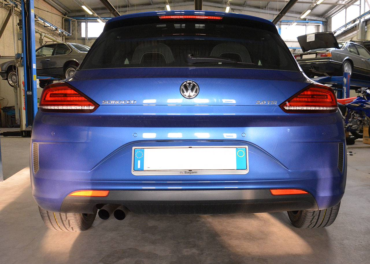 Scirocco TSi 2015 with stock exhaust