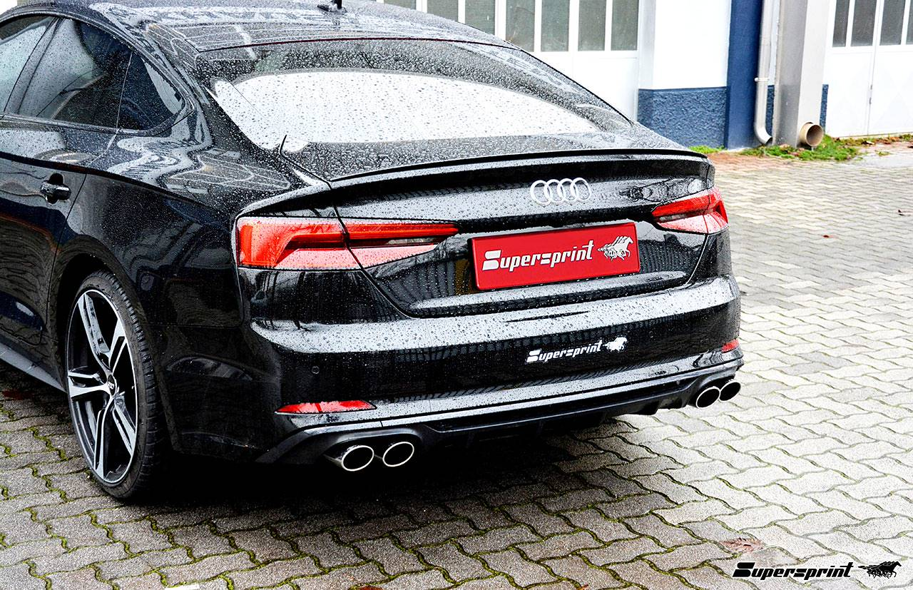 Performance sport exhaust for Audi A5 F5 2 0 TFSI Sportback