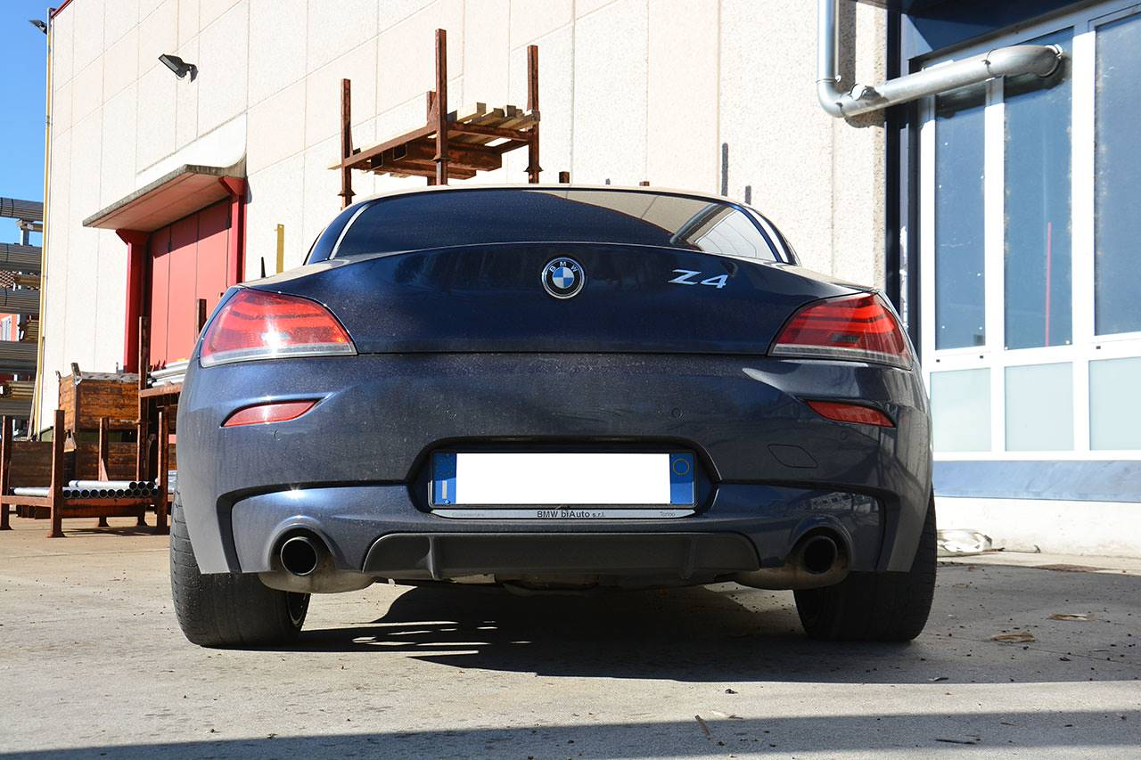 Performance Sport Exhaust For Z4 Sdrive35is Bmw E89 Z4