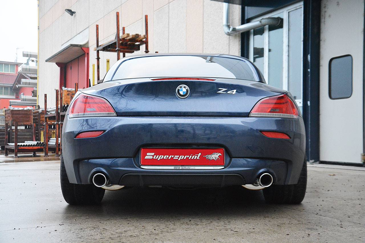 Supersprint rear exhaust right - left 982024 and 982044 for BMW E89 Z4 35is sDrive