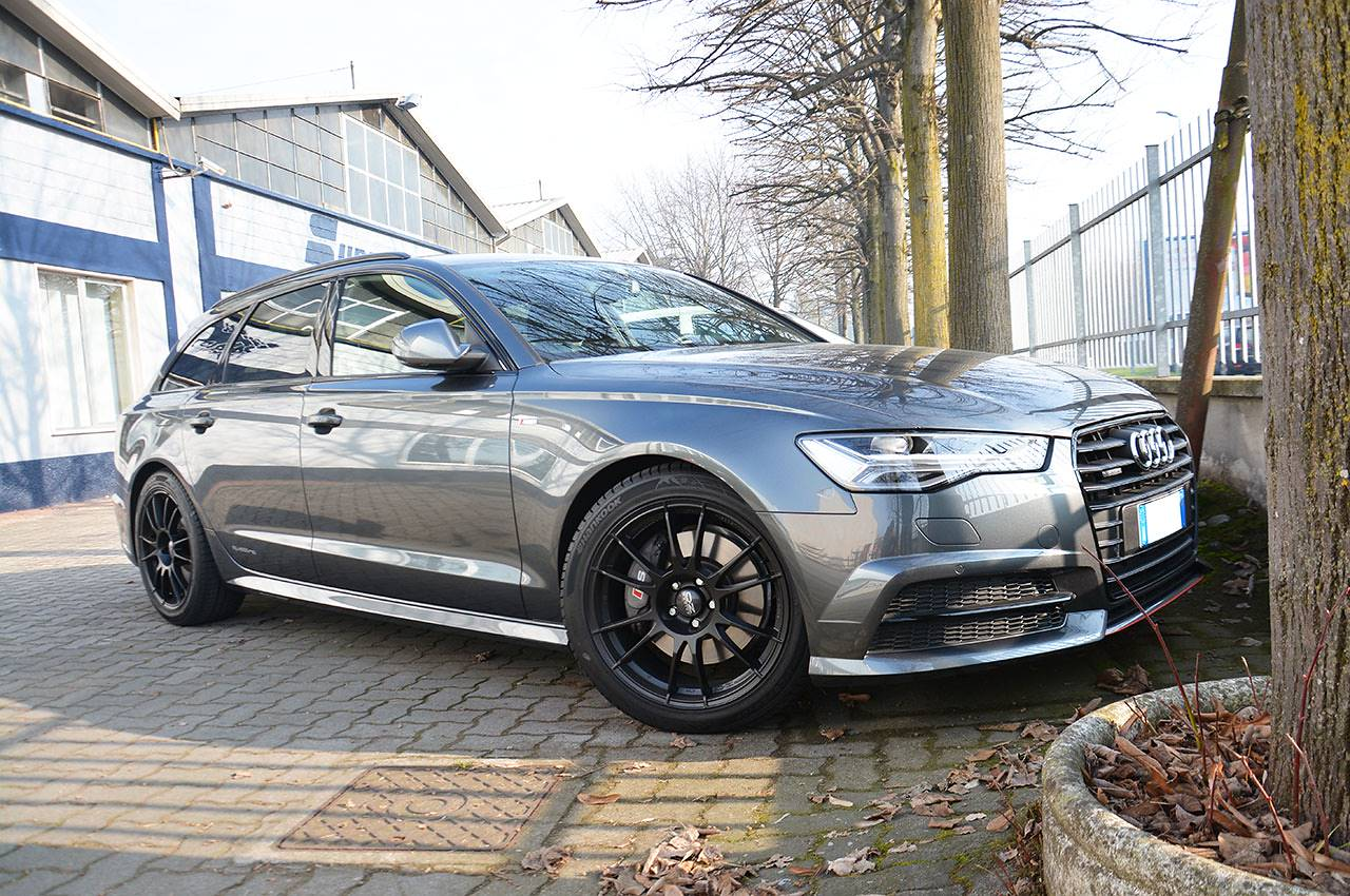Neue supersprint auspuff f r audi a6 4g 2015 3 0 tdi 2016 for Lunghezza audi a6 avant 2016