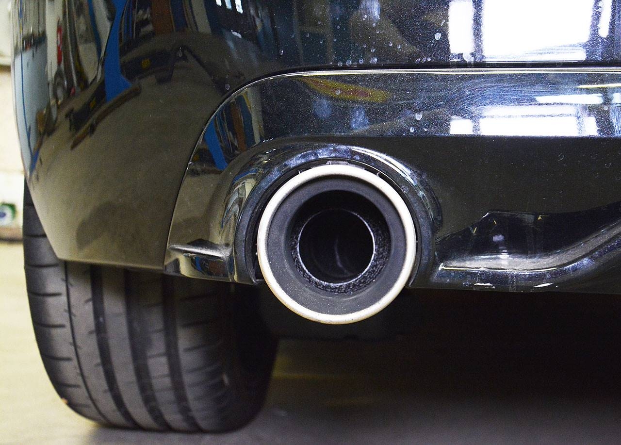 Stock tailpipes