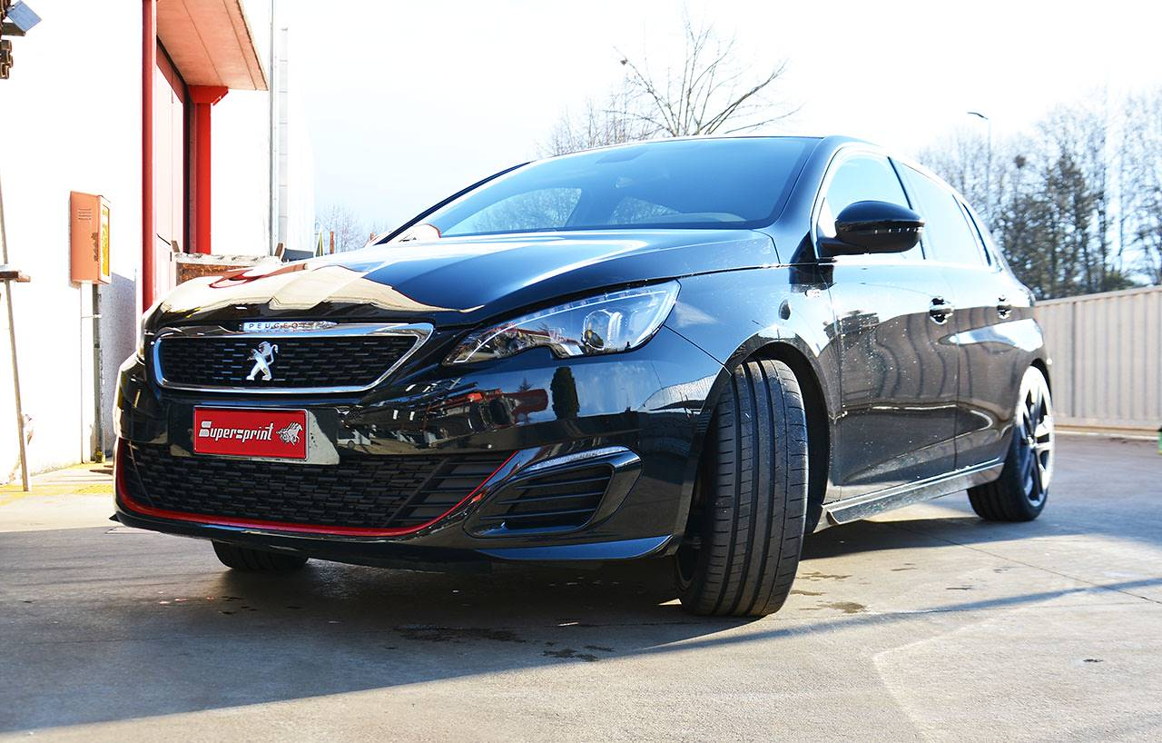 peugeot 308 gti thp 1 6 16v 250 hp 2015 peugeot exhaust systems. Black Bedroom Furniture Sets. Home Design Ideas