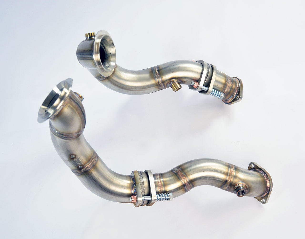Turbo Downpipe Kit Replace Pre Catalytic Converter Left Right Hand Drive For Z4