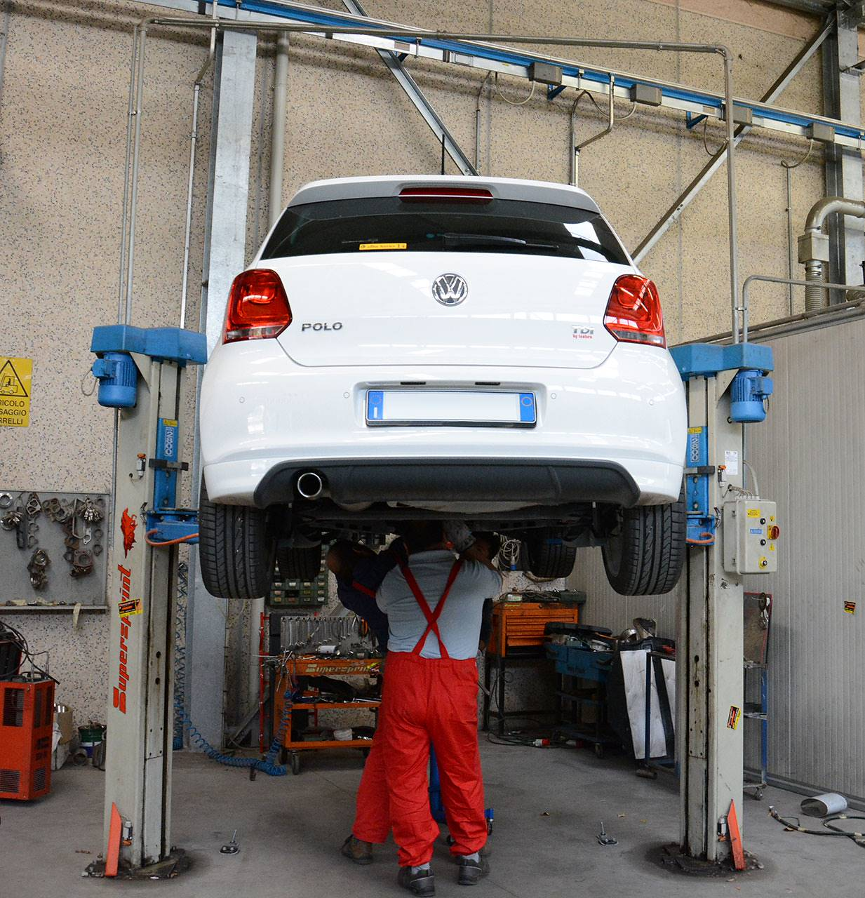 Development of turbo downpipe for DPF replacement on Polo 1.6 TDI