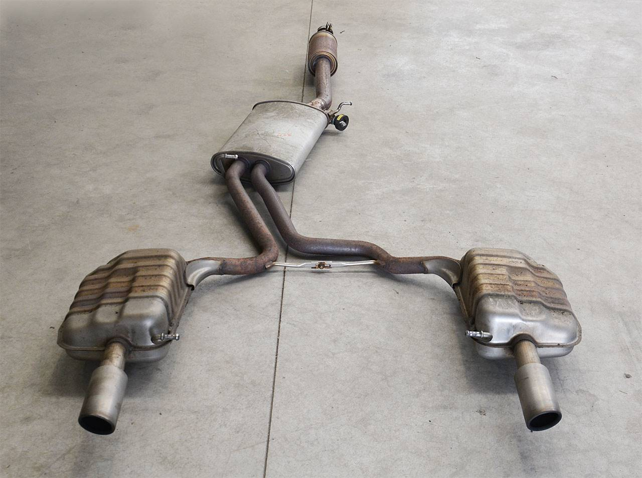 OEM exhaust system