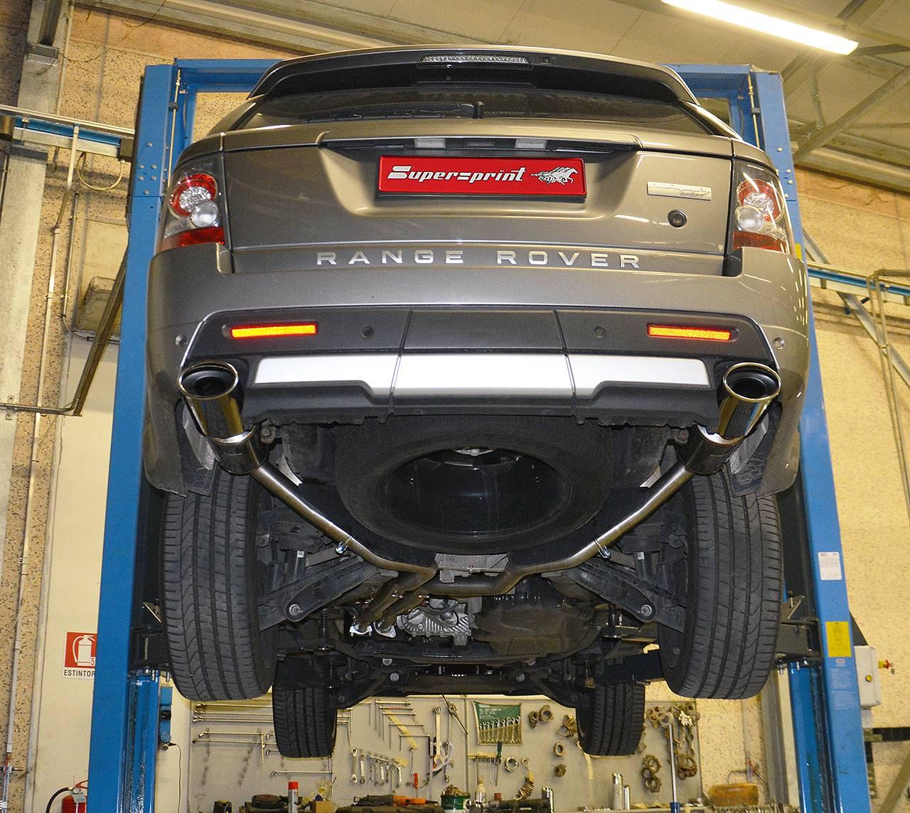 RANGE ROVER SPORT 5.0i V8 Supercharged (FORD Engine