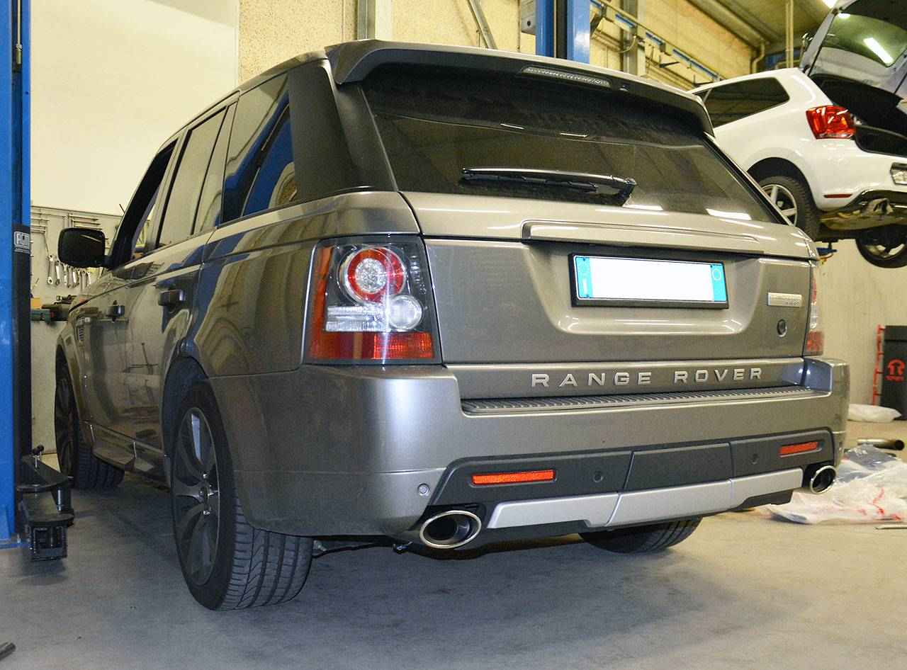 Ranger Rover Sport Supercharged mk1 510hp Autobiography fitted with Supersprint sport exhaust