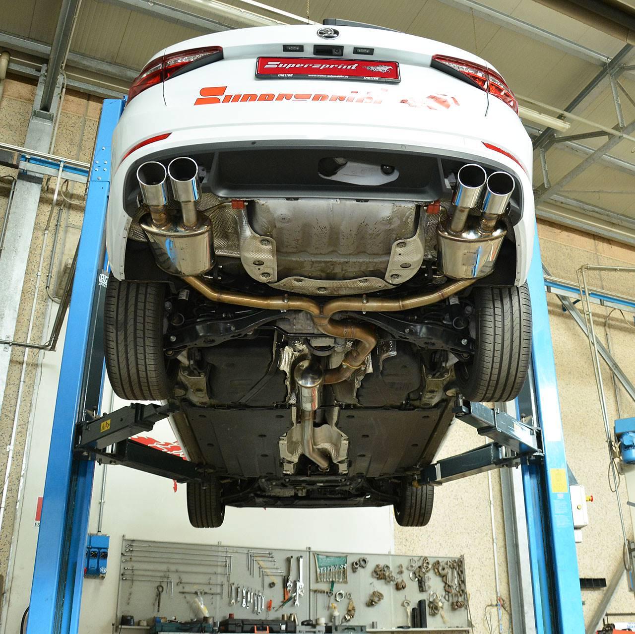 Skoda Superb Sedan Wagon 4x4 2 0 Tsi 280 Hp 2015